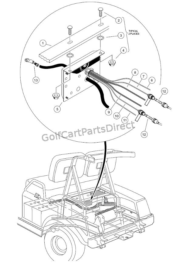 C  puter V on club car front suspension parts diagram