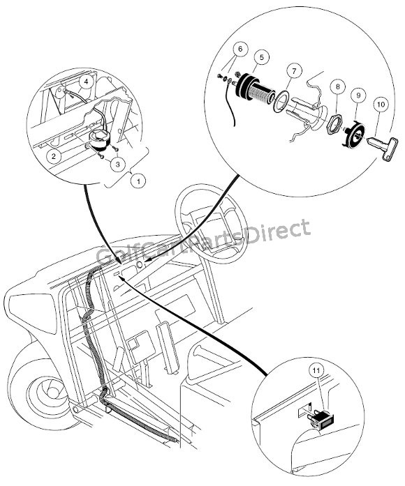 Electrical Components - Front Body - Gas
