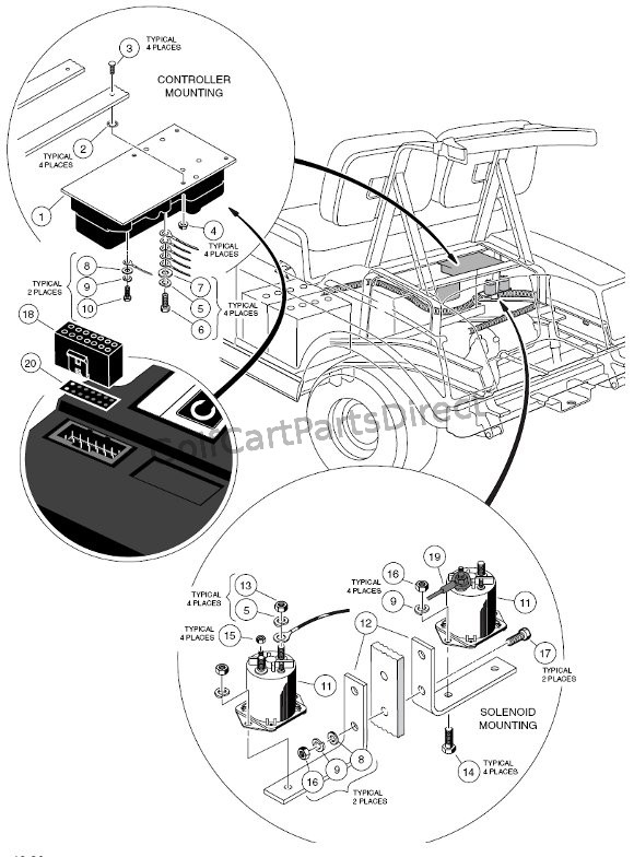 Electrical Components - Rear Body - Powerdrive Plus