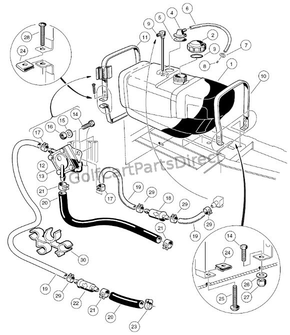 Fuel System - Club Car parts & accessories