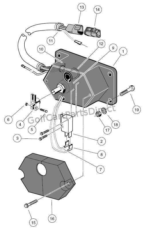 potentiometer - 48v - powerdrive & powerdrive plus