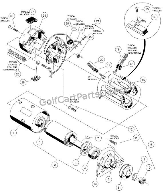 Club Car Starter Generator Wiring Diagram from golfcartpartsdirect.com