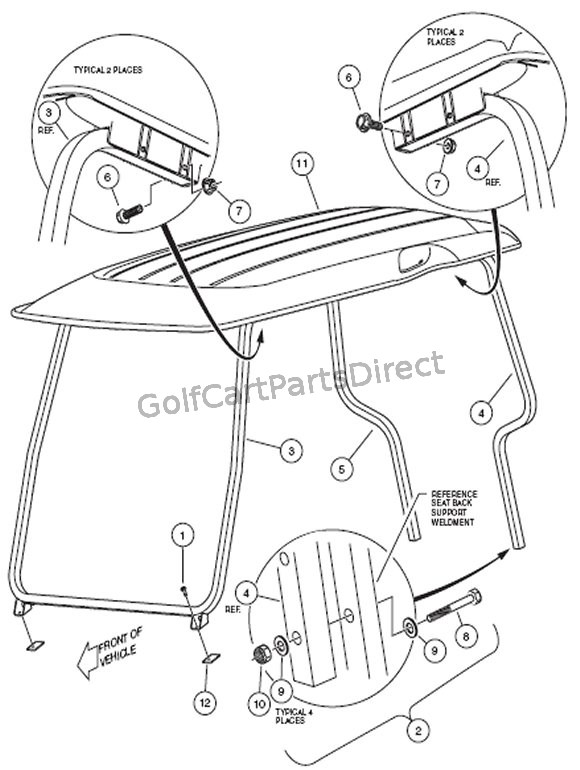 Image Result For Golf Cart Parts