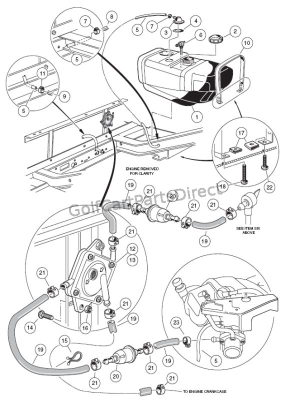 2000 2005 Club Car Ds Gas Or Electric Golfcartpartsdirect  Club Car Wiring Diagram Gas on club car parts diagram, club car 36v batteries diagram, club car electrical diagram,