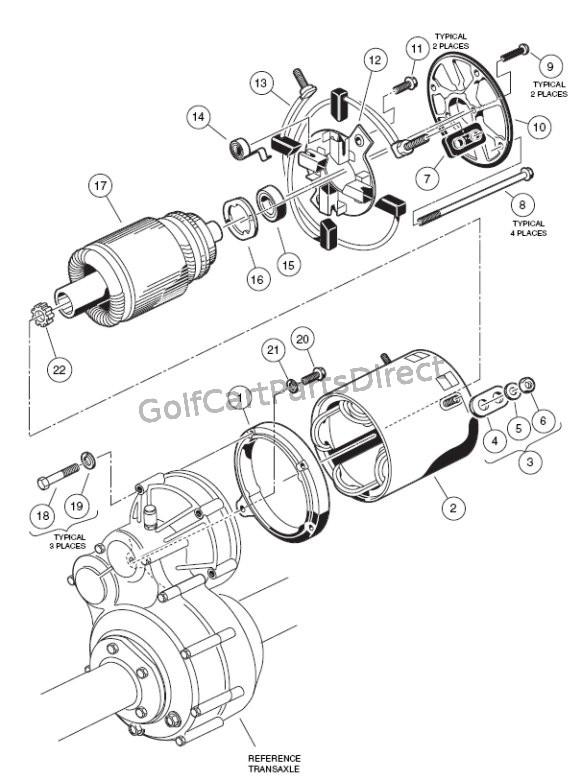 Motor - 36v