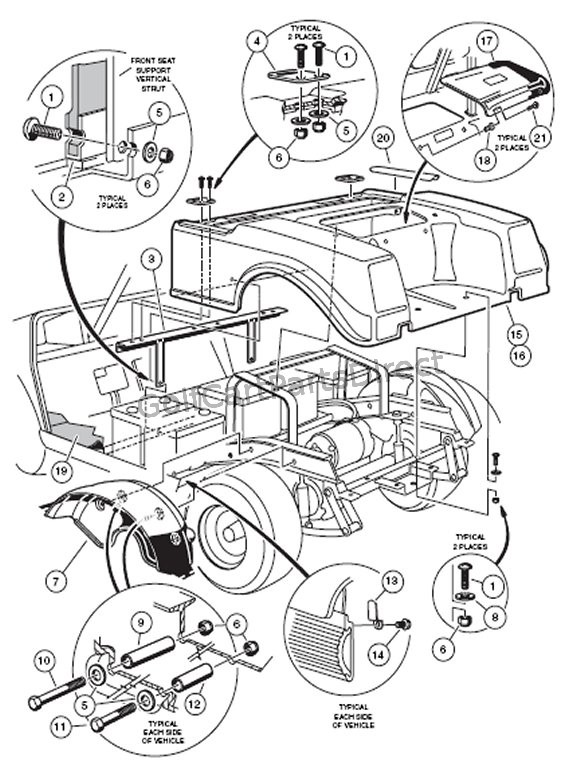 Rear Body Electric