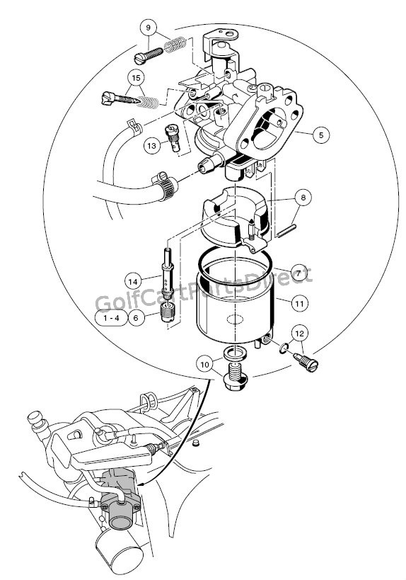 1986 Club Car Speed Control