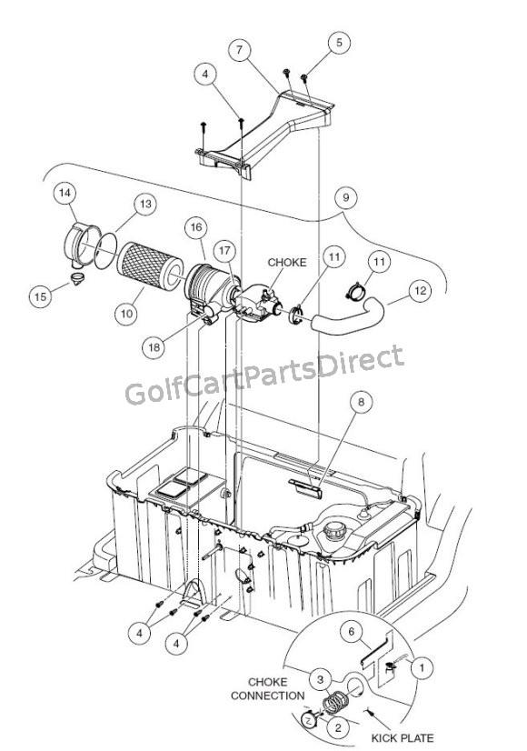 choke  u0026 air box assembly