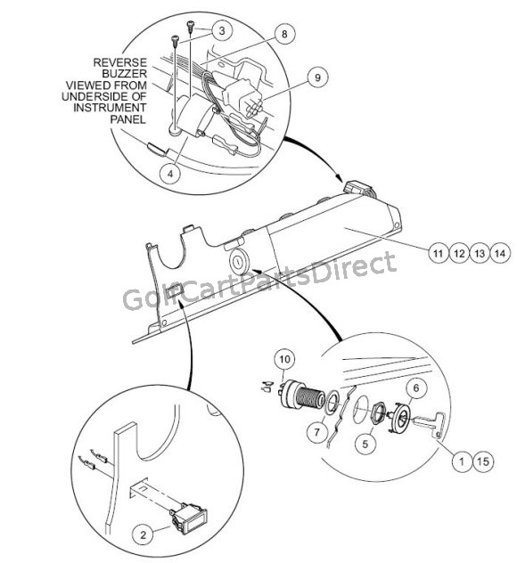 Electrical Components, Front Body -Gasoline