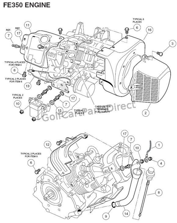 Engine - FE350 Part 1
