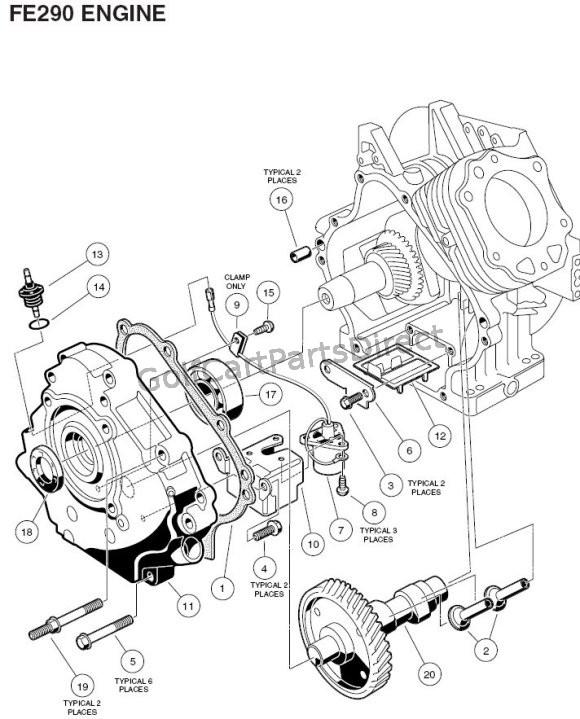Kawasaki Fe350 Engine