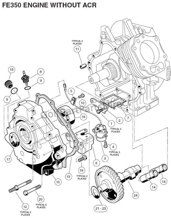 2004 2007 Club Car Precedent Gas Or Electric