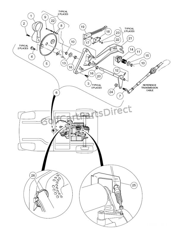 ez go gas cart wiring diagram forward reverse shifter assembly    gas    vehicle  forward reverse shifter assembly    gas    vehicle