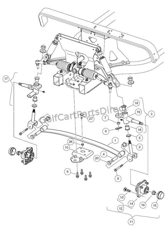 2006 Club Car Suspension - Wiring Diagram Liry Gas Wiring Car Diagram Club Ignition Switch Ram on