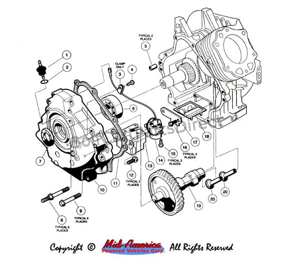 1939 Ford How To Wire Starter Solenoid besides Free Download Eaton Fuller 10 Speed Transmission Service Manual as well Viewtopic besides 4laqj 86 Club Car Ordered New 36 Volt Solenoid When together with Yamaha Parts Governor C 435 440 677. on 76 yamaha gas golf cart