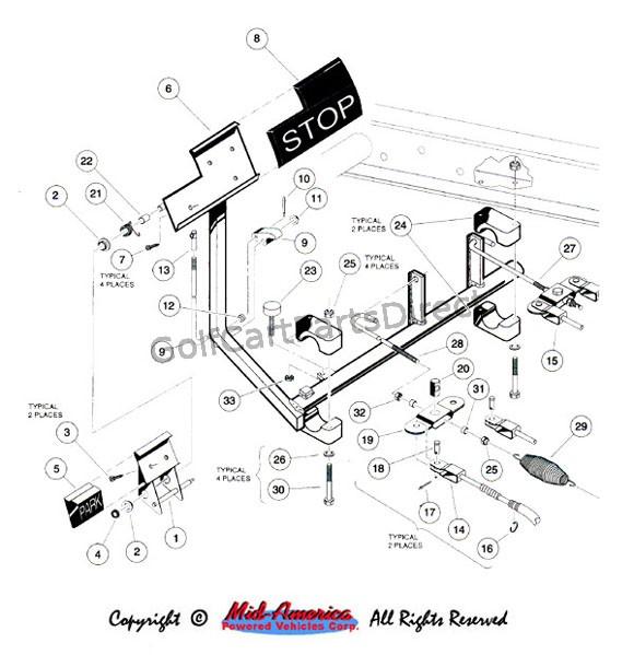 1992 1996 carryall 1 2 6 by club car golfcartpartsdirect. Black Bedroom Furniture Sets. Home Design Ideas