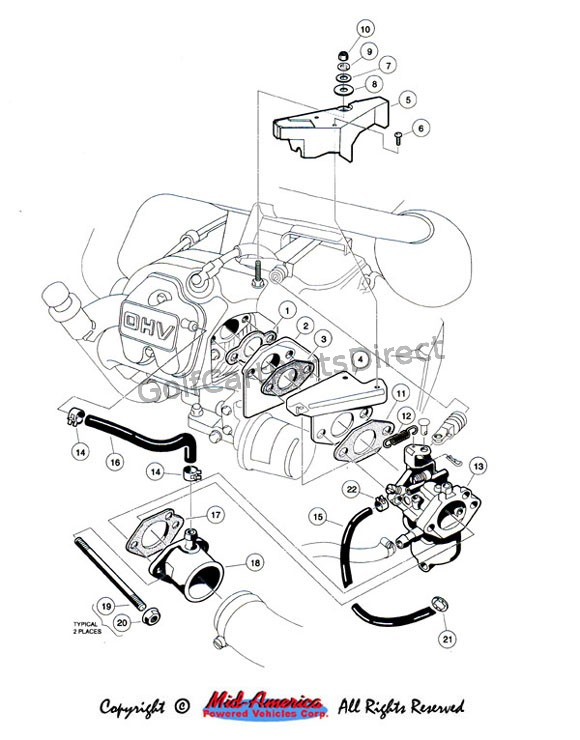 Club Car Motor Diagram