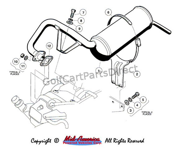 Exhaust System - FE 350