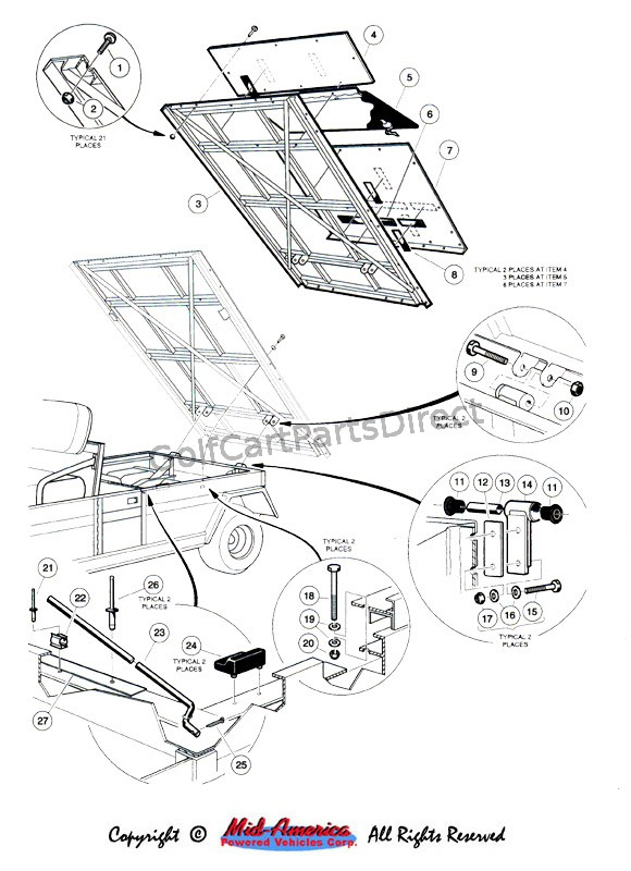 Flat Bed Assembly