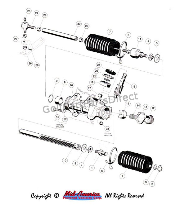 Steering Gear Assy.