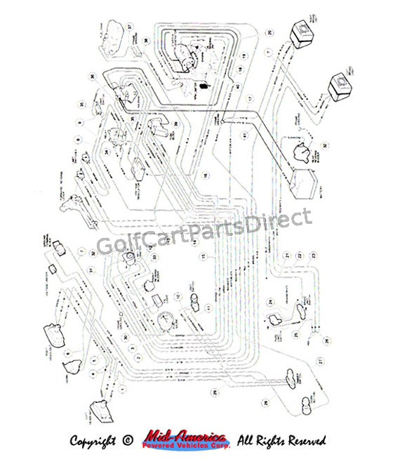 carryall wiring diagram wiring, gas carryall vi - club car parts & accessories 1996 club car carryall 2 wiring diagram #7