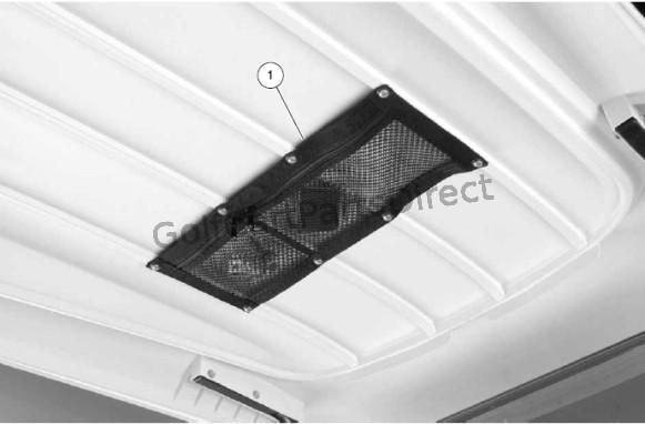 Canopy Storage Net Club Car Parts Amp Accessories