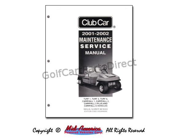 service manuals club car parts   accessories 2007 club car precedent service manual 2010 club car precedent manual