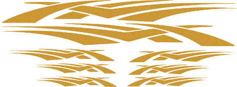 N-6632-1 - GRAPHICS, CLOUD WEAVE, GOLD MET.