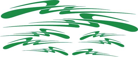 N-9157 - (UTD) GRAPHIC,SPEED,EZ,YAM,GREEN