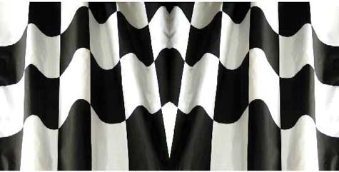N-20369 - BODY SKINZ, CHECKER FLAG
