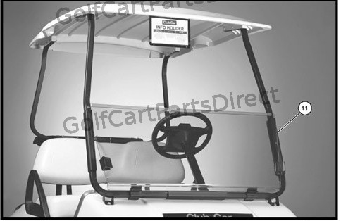 103783101 - KIT- HINGED WINDSHIELD- ICS