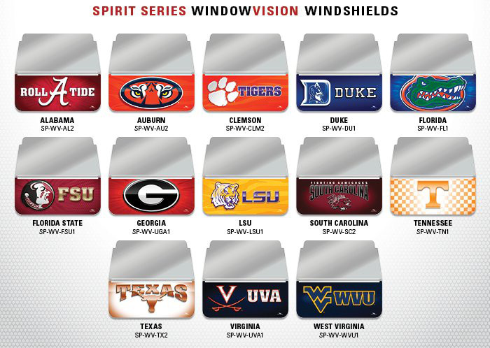 SP-WV - Spirit Series Windshields