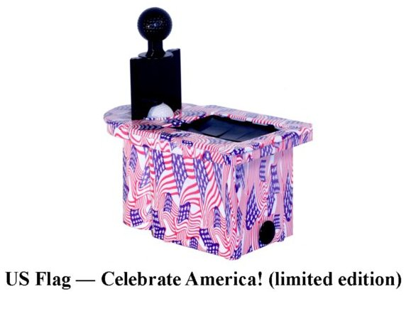 CLC-103FLG - BALL & CLUB CLEANER - US FLAG